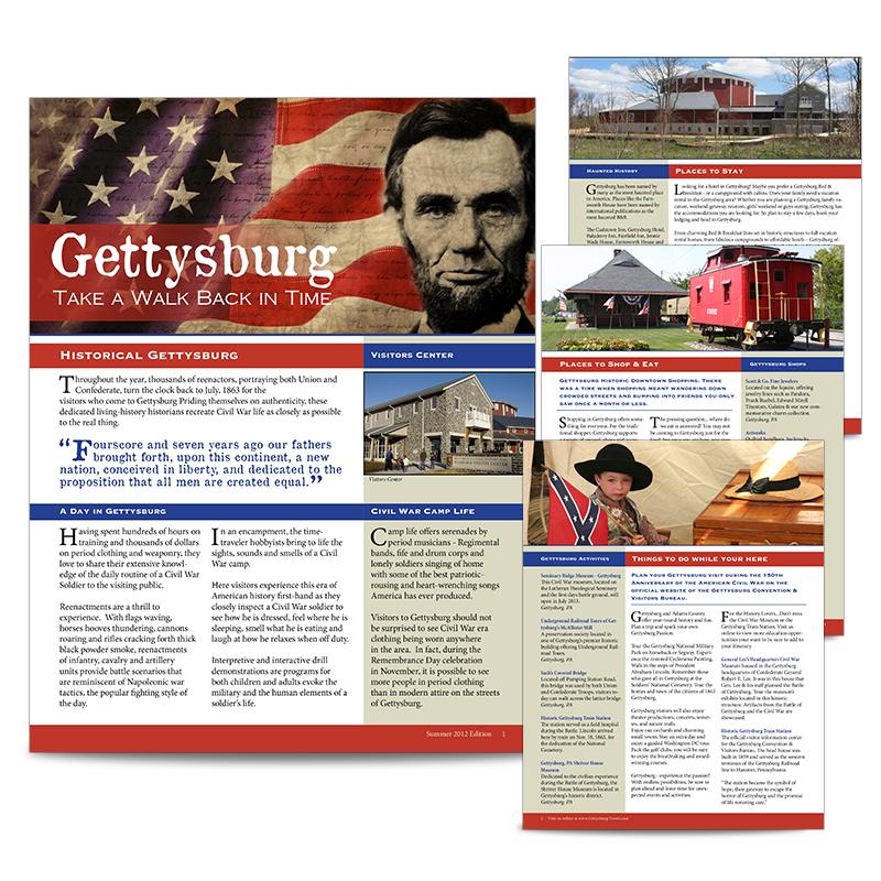 Gettysburg Multi-Page Newsletter