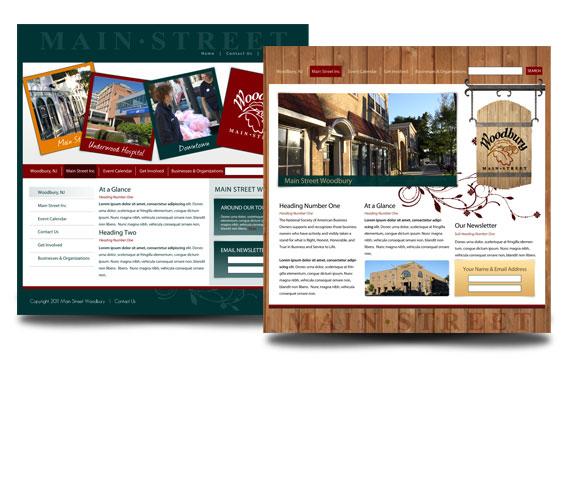 Main Street Woodbury Web Design