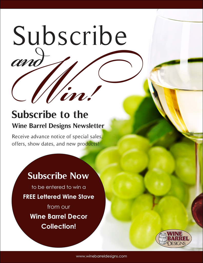 Wine Barrel Designs Flyer