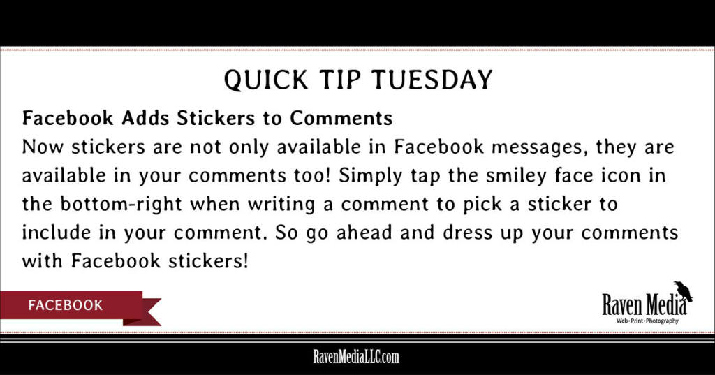 Quick Tip Tuesday  Facebook