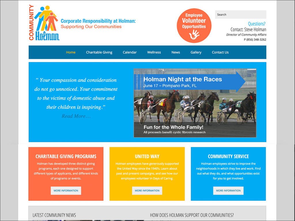 Holman Community Website