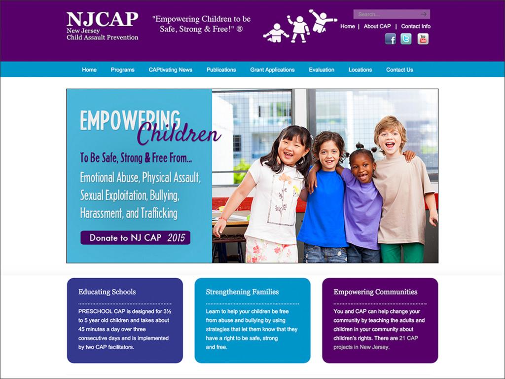 NJCAP Website Design