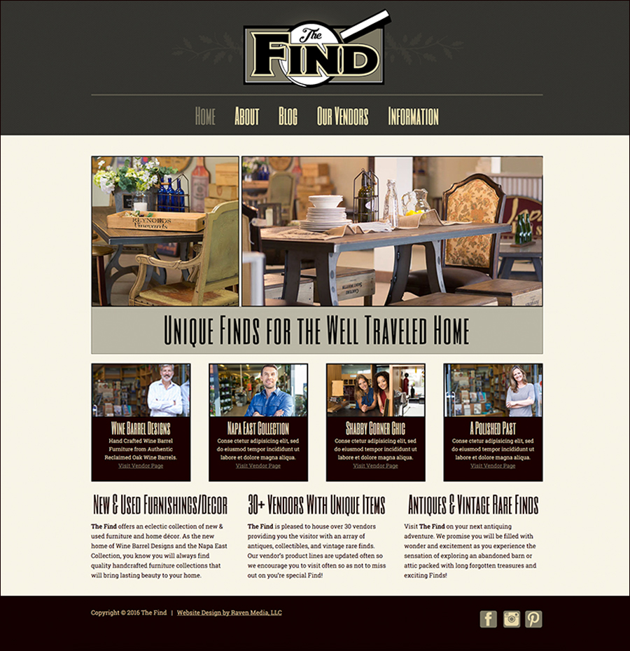 The-Find-Website