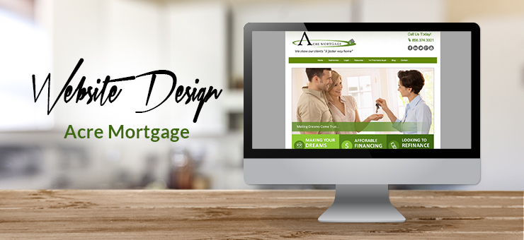 Acre Mortgage Website Design