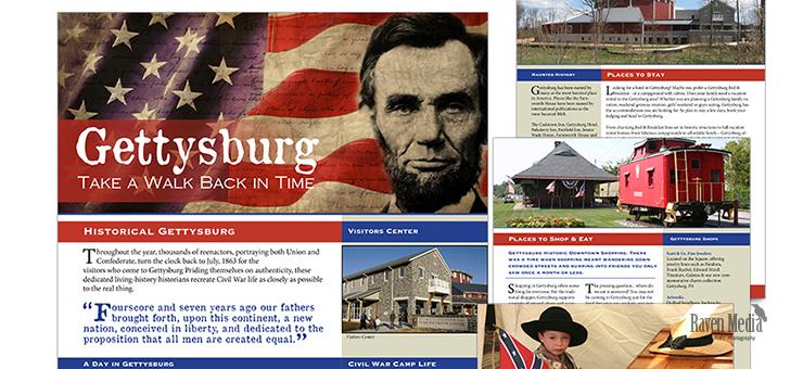 Gettysburg Newsletter Design