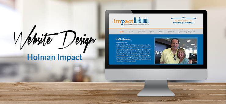 Holman Impact Website Design