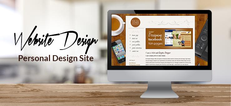 Kelly Ann's Designs Website Design