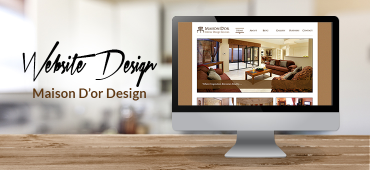 Maison D'or Web Design