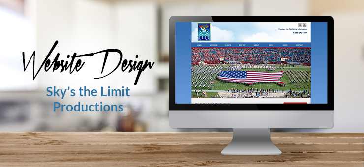 Sky's the Limit Productions Multi-Page Website