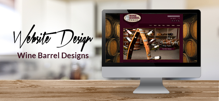 Wine Barrel Designs Website Design