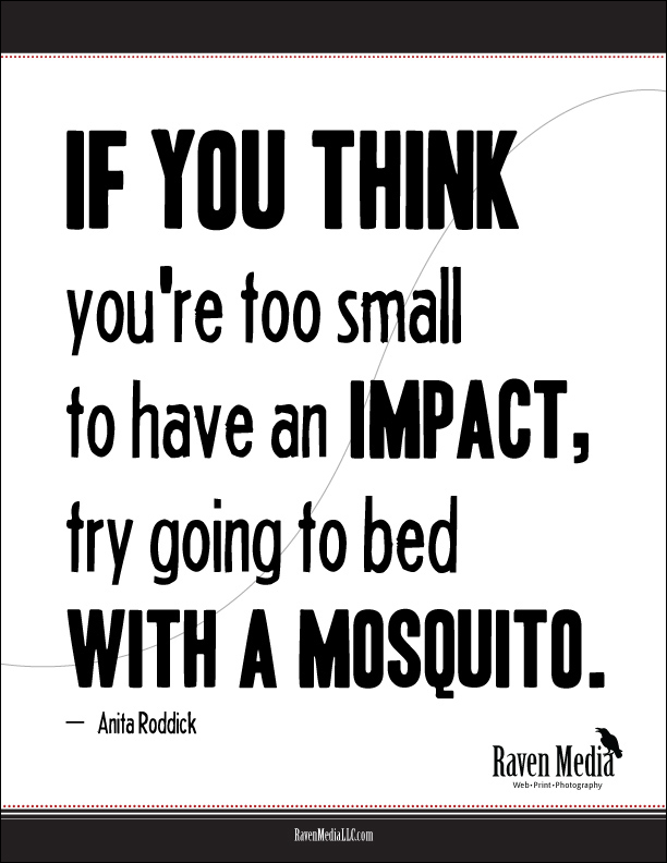 Business Quote: Your Impact