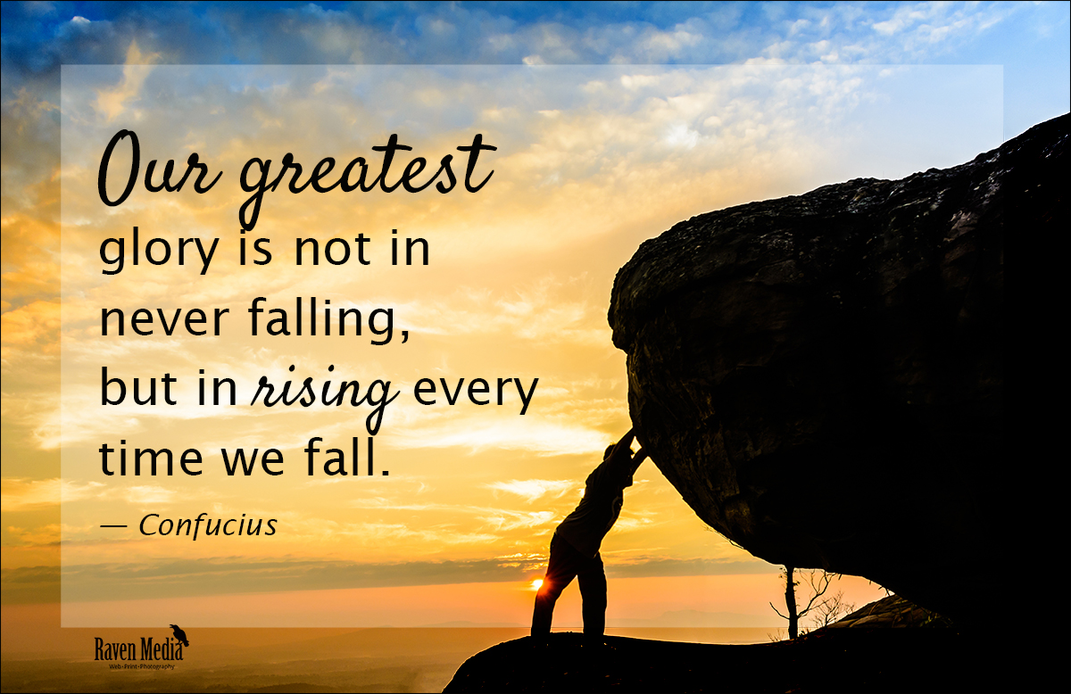 Our Greatest Glory….
