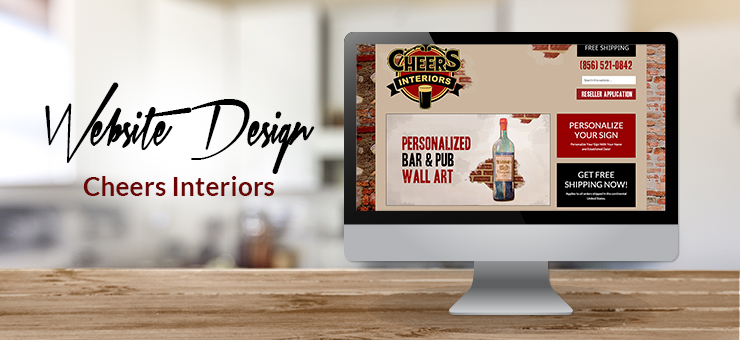 Cheers Interiors Website Design