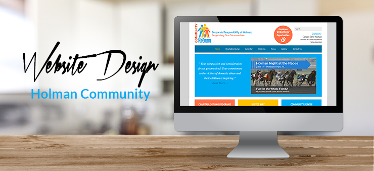 Holman Community Website Design