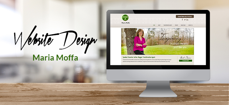 Maria Moffa Website Design
