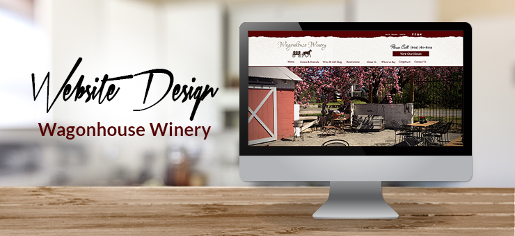 Wagonhouse Winery Website Design