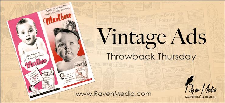 Throwback Thursday: Cigarette Advertisements