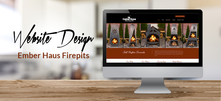 Ember Haus Firepits Website Design