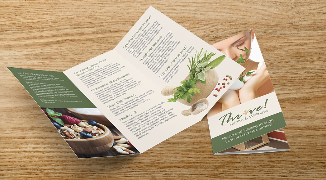 Thrive Brochures