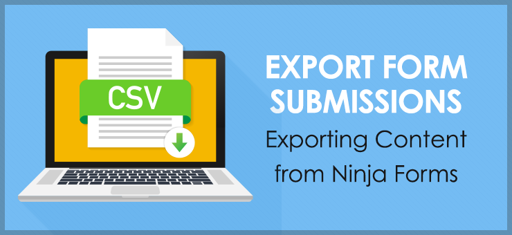 Export Form Submission Information