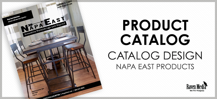 Napa East Catalog Design